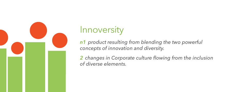 Innoversity builds bridges between diverse communities and mainstream industries and sectors